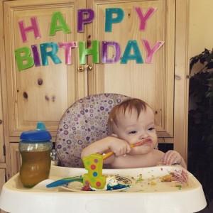 Samuel 1st Birthday